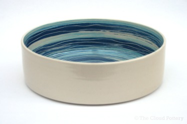 Sea ripple medium dish